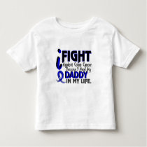 I Need My Daddy Colon Cancer Toddler T-shirt