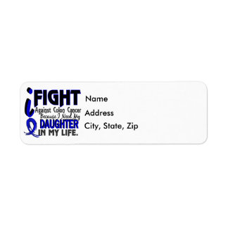I Need My Daughter Colon Cancer Label