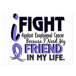 I Need My Friend Esophageal Cancer Postcard