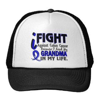 I Need My Grandma Colon Cancer Mesh Hat