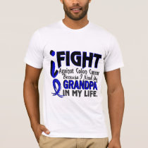 I Need My Grandpa Colon Cancer T-Shirt