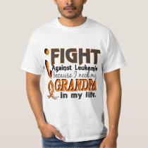 I Need My Grandpa Leukemia T-Shirt
