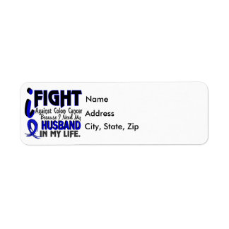 I Need My Husband Colon Cancer Label