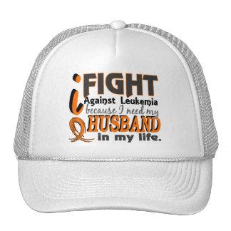 I Need My Husband Leukemia Hat