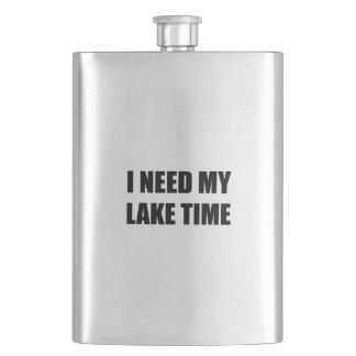 I Need My Lake Time Flask