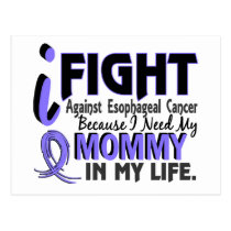 I Need My Mommy Esophageal Cancer Postcard