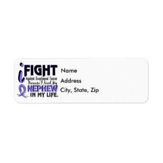 I Need My Nephew Esophageal Cancer Return Address Label