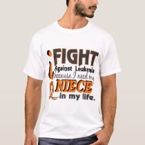 I Need My Niece Leukemia T-Shirt