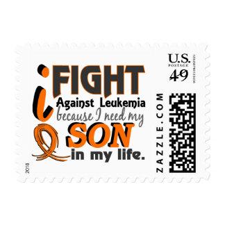 I Need My Son Leukemia Postage