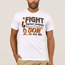 I Need My Son Leukemia T-Shirt