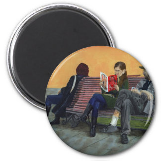 I Need My Space! 2 Inch Round Magnet