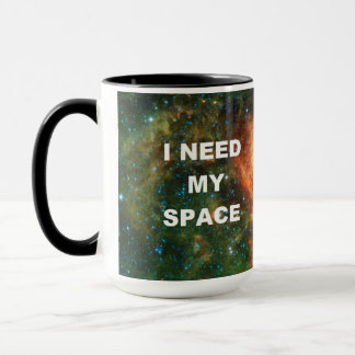 I Need My Space - Orange Mug