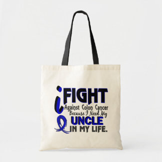 I Need My Uncle Colon Cancer Tote Bag