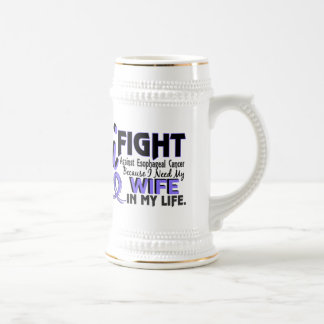 I Need My Wife Esophageal Cancer Beer Stein