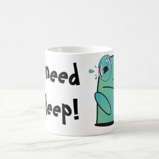 I Need Sleep! Sleepy Plop Mug