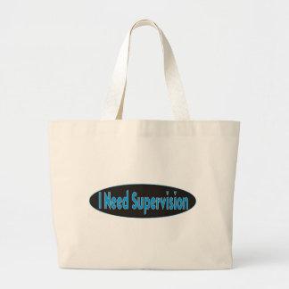 I need Supervision Design Tote Bag