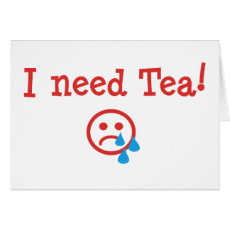 I need Tea! - to recover from ObamaCare Card