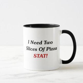 I Need Two Slices Of Pizza Stat! Mug