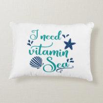 i need vitamin sea accent pillow