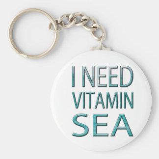 I NEED VITAMIN SEA KEYCHAIN
