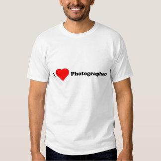 I negro de los fotógrafos del corazón polera