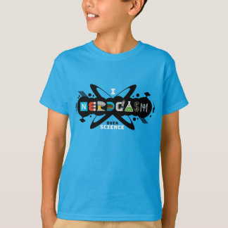 I Nerdgasm Over Science Kids T-Shirt