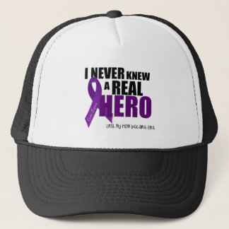 I NEVER KNEW A REAL HERO.... Mom Trucker Hat
