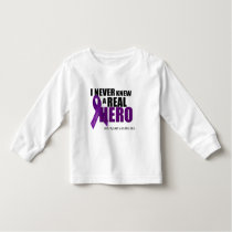 I NEVER knew a REAL HERO... Toddler T-shirt