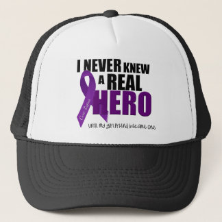 I NEVER Knew a REAL HERO.... Trucker Hat