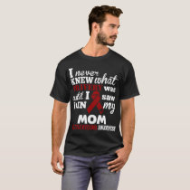 I Never Knew Bravery Multiple Myeloma Awareness T-Shirt