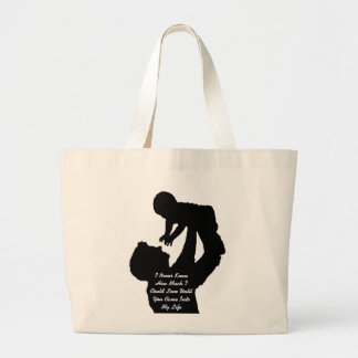 I Never Knew I ❤️ L.I.F.E Totes by Malaika Mothers Jumbo Tote Bag