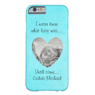 I Never Knew What Love Was, Turquoise Cell Case