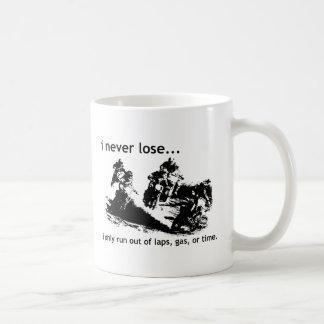 I Never Lose Dirt Bike Motocross Mug