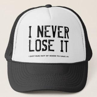 I Never Lose It Dirt Bike Motocross Cap Hat Funny