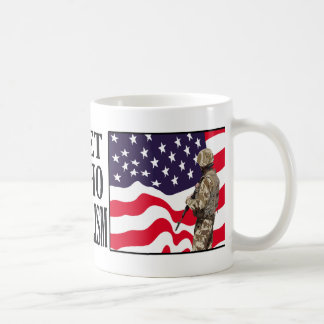 I Never Met A US Vet Who Fought For Socialism Coffee Mug