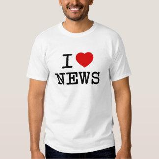 I ♥ News T Shirts