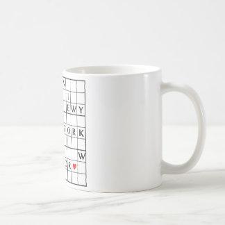I♥NEWYORK COFFEE MUG