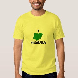 I ♥  Nigeria Tshirts