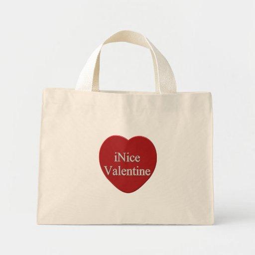I Niza camisetas y regalos del día de San Valentín Bolsa