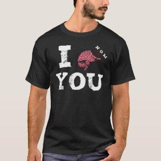 I Nom You Zombie Brain Attack T-Shirt
