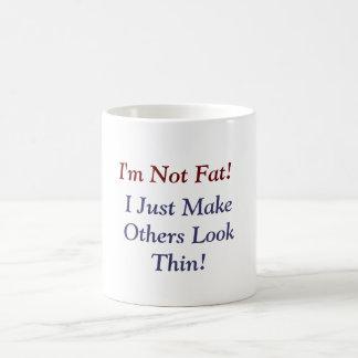 I Not Fat Mug