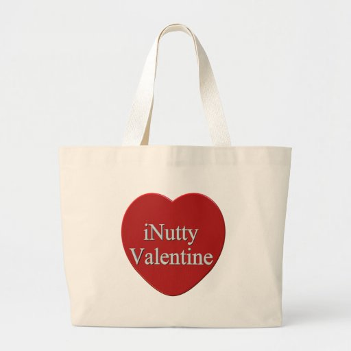 I Nutty Valentines Day T-shirts and Gifts Canvas Bags