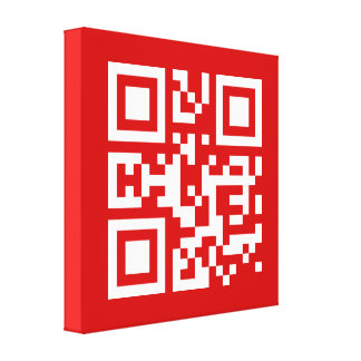 I❤NY -- QR Code Canvas Print