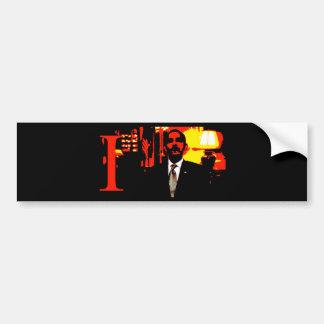 i,OBAMA: Narcissist-in-Chief Bumper Sticker