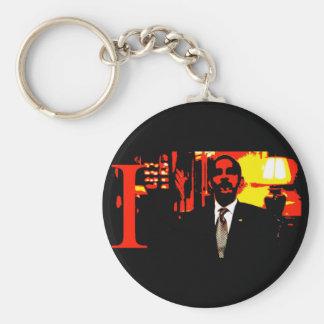 i,OBAMA: Narcissist-in-Chief Keychain