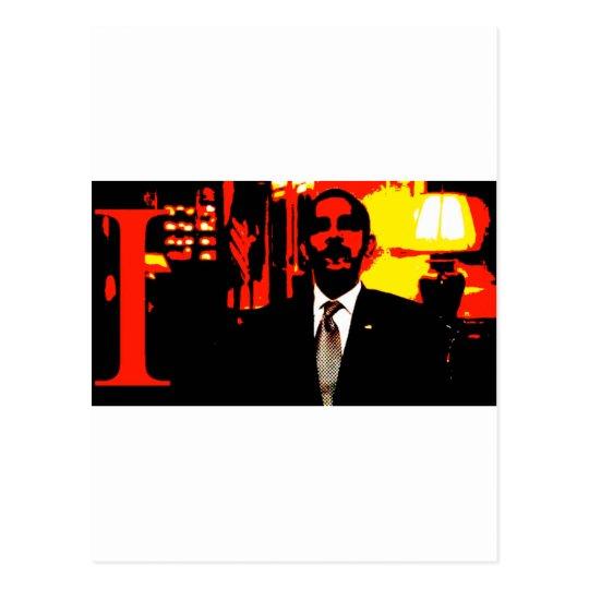i,OBAMA: Narcissist-in-Chief Postcard