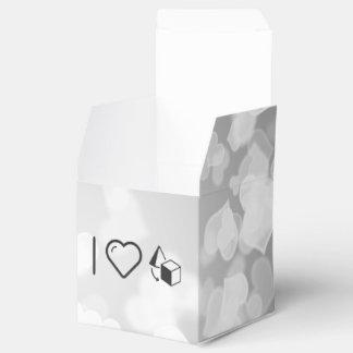 I objetos del corazón caja para regalo de boda
