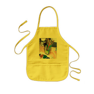 I Officially Resign From Adulthood Kids' Apron