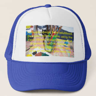 I Officially Resign From Adulthood Trucker Hat