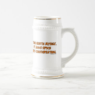 I often quote myself coffee mug